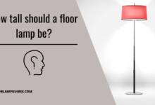 Photo of How tall should a floor lamp be?
