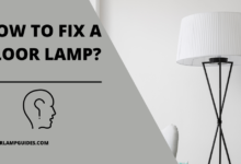 Photo of How to fix a floor lamp?