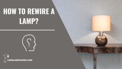 Photo of How to rewire a lamp?