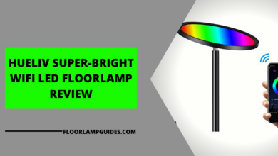 Photo of Hueliv wifi LED floor lamp review (Updated 2021)