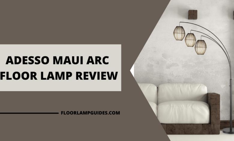 Adesso Maui Arc Floor Lamp Review